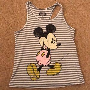 Disney's Mickey Mouse striped tank